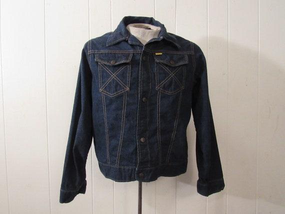 VINTAGE JACKET, denim jacket, Big Yank, 1960s jack