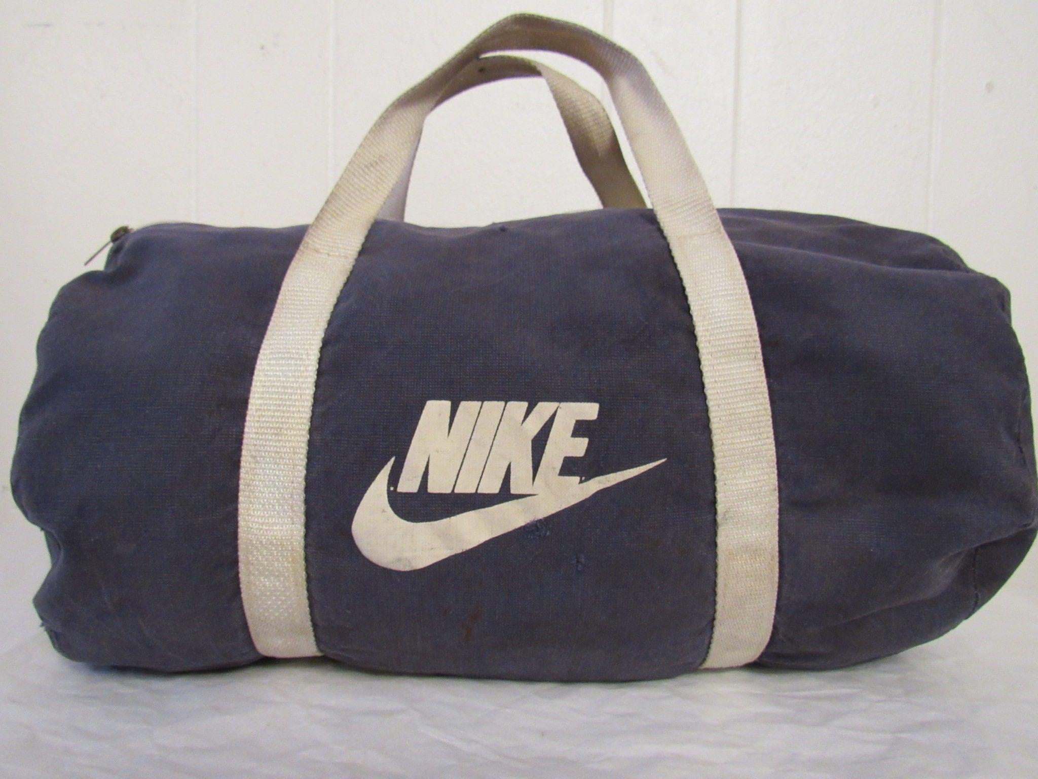 Vintage Duffel Bag Nike Bag 1980s Nike Nike Gym Bag Nike Duffel Bag Vintage Luggage