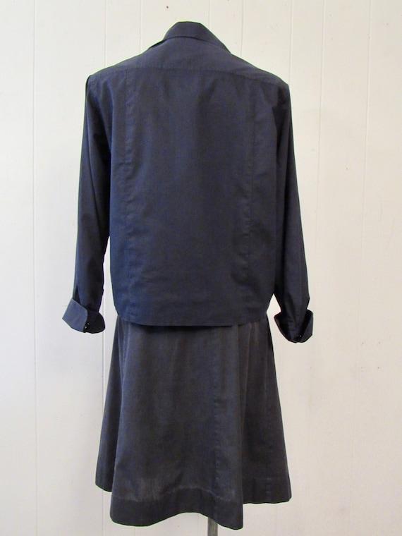 Vintage uniform, 1940s uniform, cotton uniform, s… - image 5