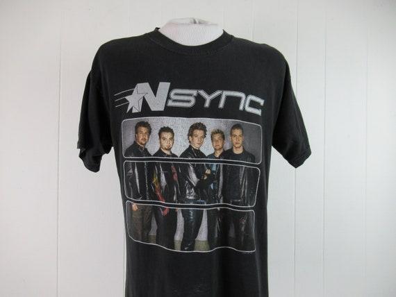 Vintage t shirt, concert tour t shirt, NSYNC t sh… - image 1