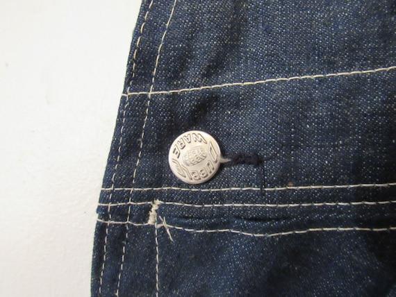 Vintage denim overalls, Dubble Ware denim, vintag… - image 5