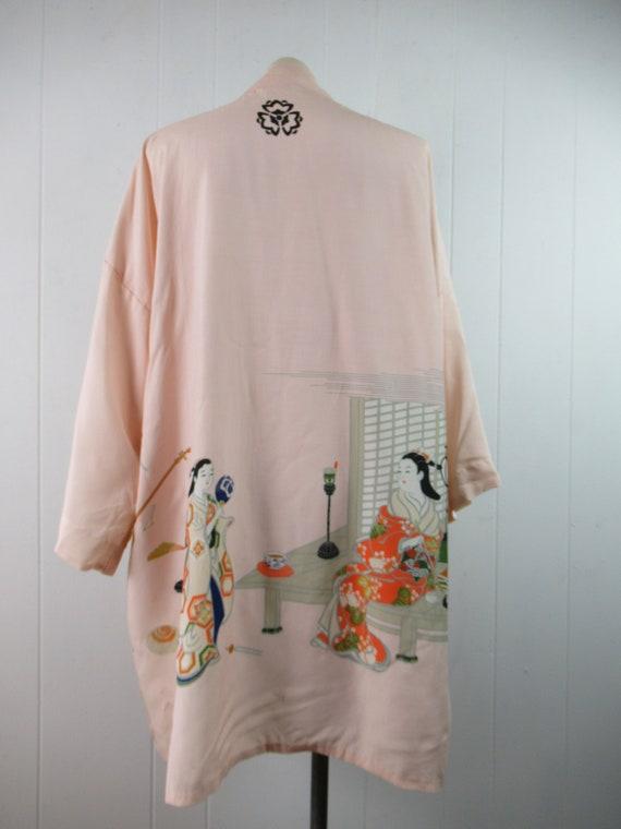 Vintage robe, kimono robe, silk robe, Asian robe,… - image 9