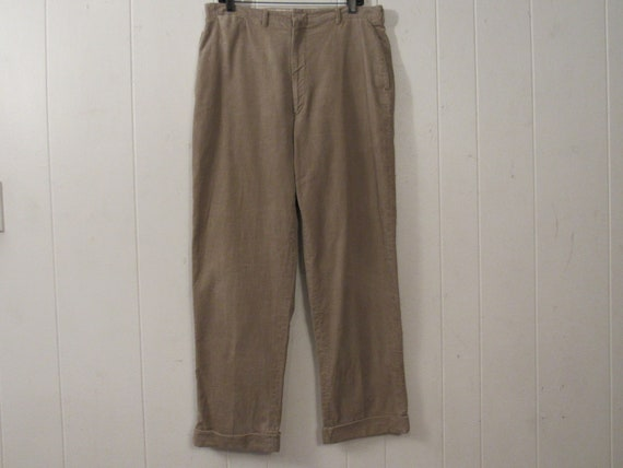 Vintage pants, work pants, 1950s pants, cotton pan