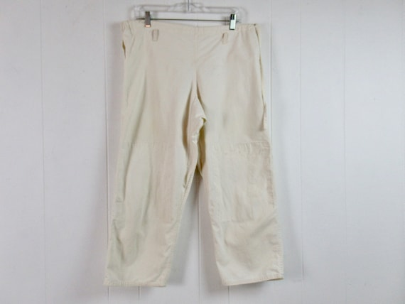 Vintage pants, karate pants, cotton pants, culotte