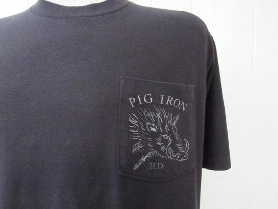 Vintage t shirt, motorcycle t shirt, 1980s t shirt