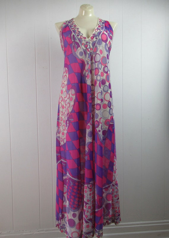 Vintage Pucci, Pucci nightgown, Pucci dress, Pucc… - image 2
