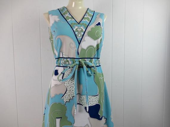 Vintage dress, 1960s dress, Mr Dino dress, Paris F