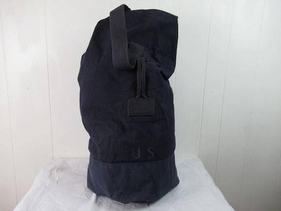 Vintage bag, 1950s bag, duffel bag, U.S. Army bag,