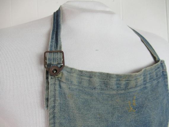 Vintage work apron, vintage workwear, work apron,… - image 3