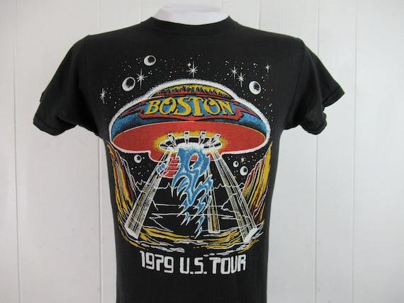 Vintage t shirt, 1970s t shirt, Boston t shirt, co