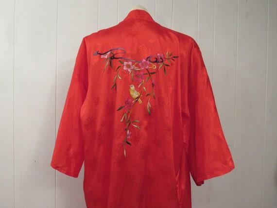 Vintage robe, Asian robe, oriental robe, embroider