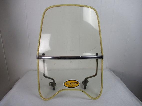 Vintage motorcycle windshield, Bates Motorcycle, m