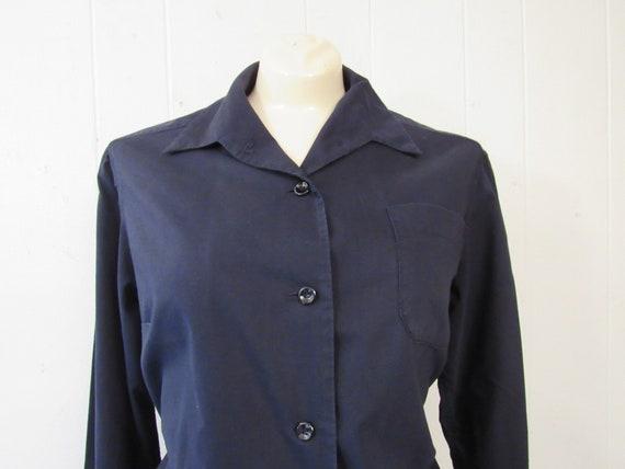 Vintage uniform, 1940s uniform, cotton uniform, s… - image 3