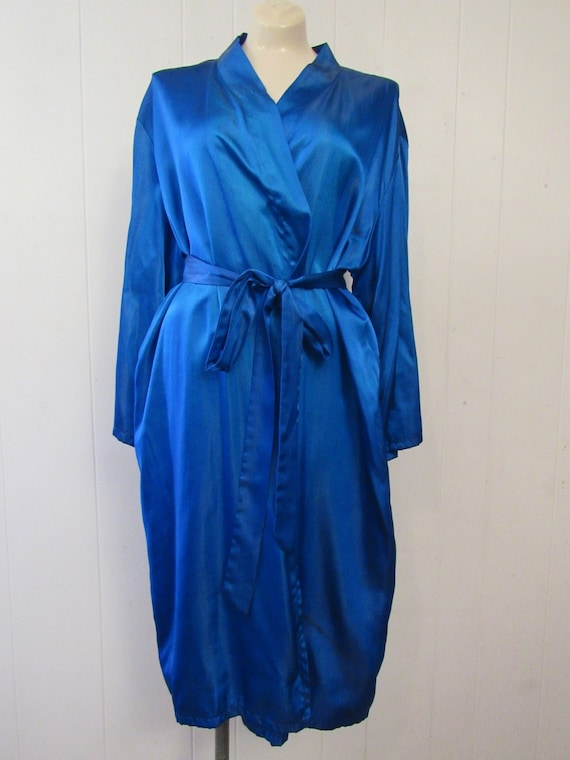 Vintage robe, Asian robe, silk robe, embroidered … - image 5
