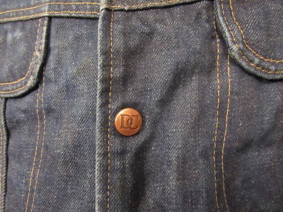 Vintage denim vest, vintage vest, cowboy western … - image 2
