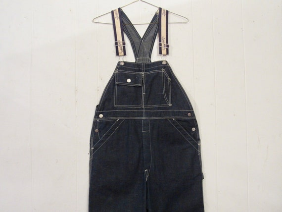 Vintage denim overalls, Dubble Ware denim, vintage