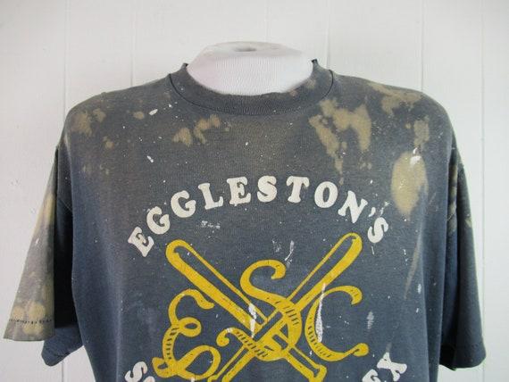 Vintage t shirt, painter's t shirt, distressed t … - image 3
