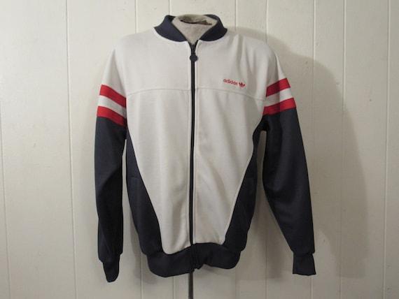 Jahre Vintage JackeAdidas JackeOldschoolAdidas Kleidunggroße Warm up1980er JackeVintage 80kwOnP