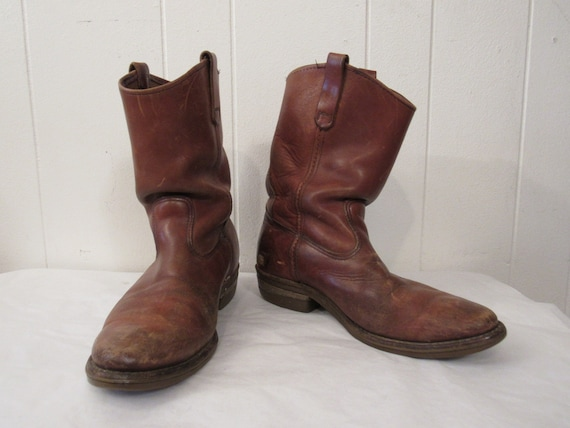 Vintage boots, Red Wing boots, 1960s boots, cowboy
