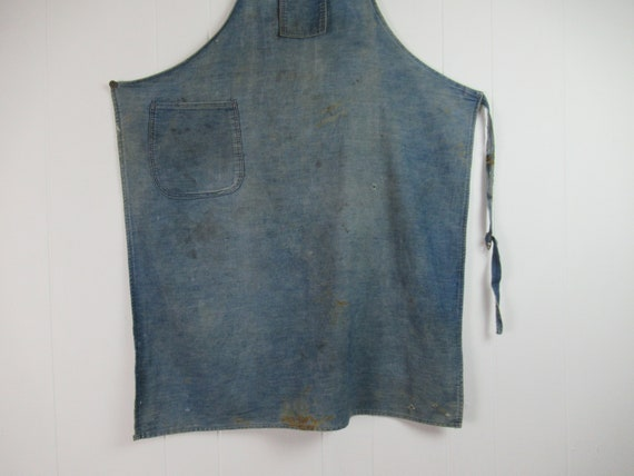 Vintage work apron, vintage workwear, work apron,… - image 6