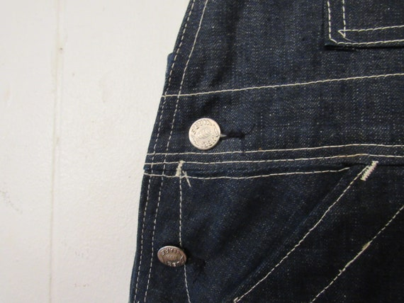 Vintage denim overalls, Dubble Ware denim, vintag… - image 4