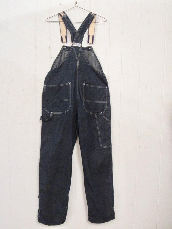 Vintage denim overalls, Dubble Ware denim, vintag… - image 7