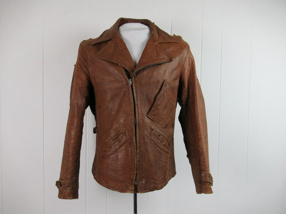 Vintage jacket, 1940s jacket, 1930s jacket, AS IS,
