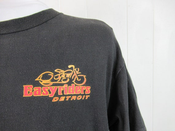 Vintage t shirt, Easyriders t shirt, biker t shirt