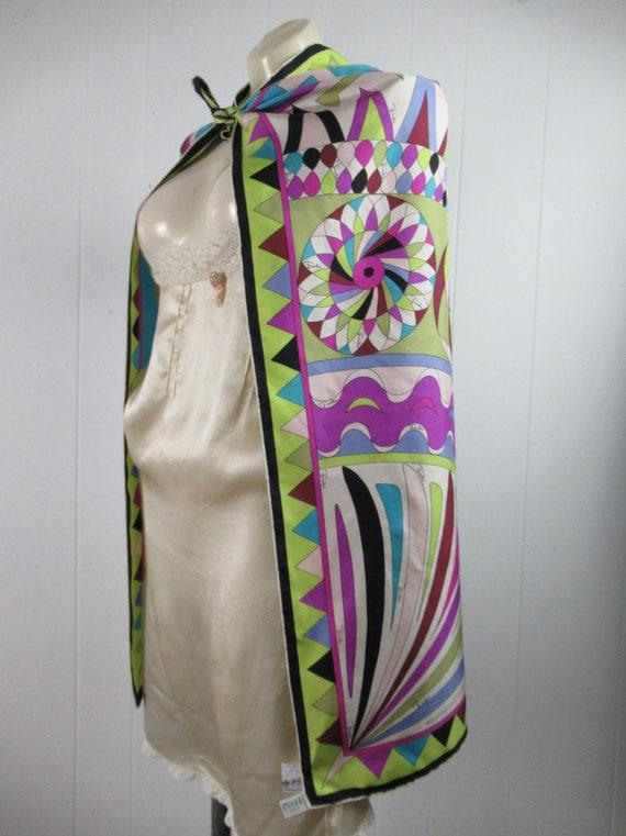 Vintage Pucci, Pucci scarf, silk scarf, mod scarf… - image 10