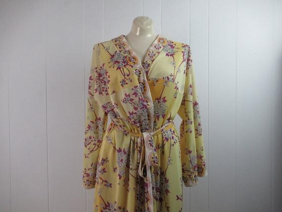 Vintage Pucci, vintage robe, Pucci robe, Pucci lin