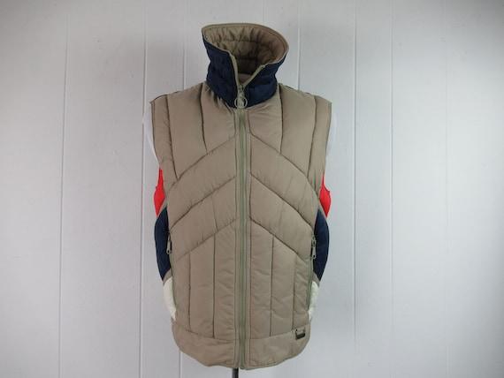 Vintage vest, vest jacket, White Stag vest, ski ve