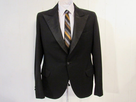 Vintage jacket, 1930s jacket, tuxedo jacket, tux j