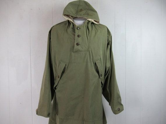 Vintage parka, 1940s jacket, WWII reversible jack… - image 1