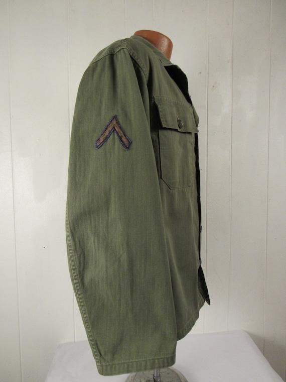Vintage jacket, Army jacket, 1950s jacket, shirt … - image 3