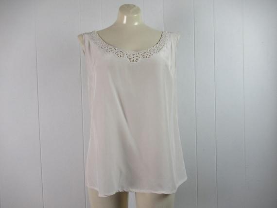 Vintage blouse, 1930s shirt, Rayon shirt, vintage