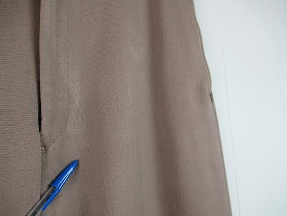 Vintage pants, 1940s pants, Army pants, pinks, mi… - image 6
