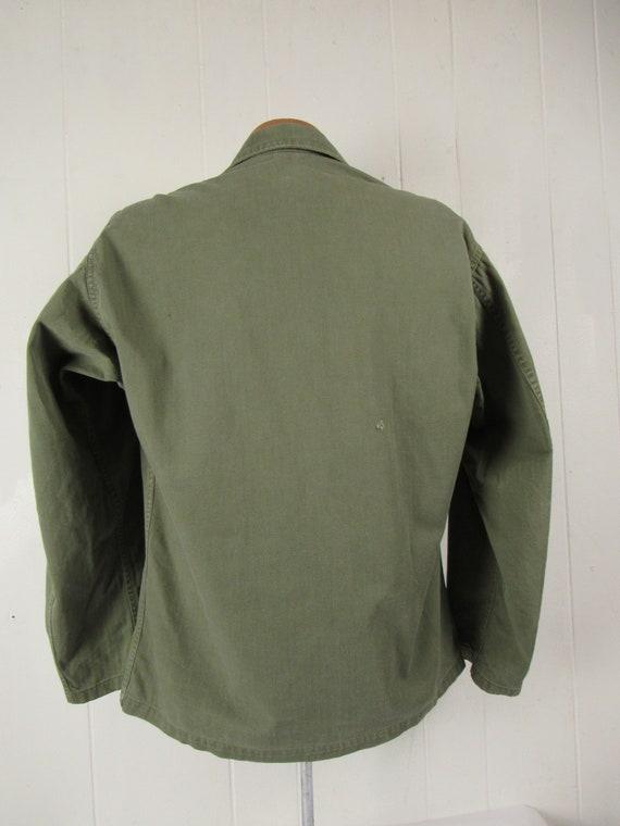 Vintage jacket, Army jacket, 1950s jacket, shirt … - image 5