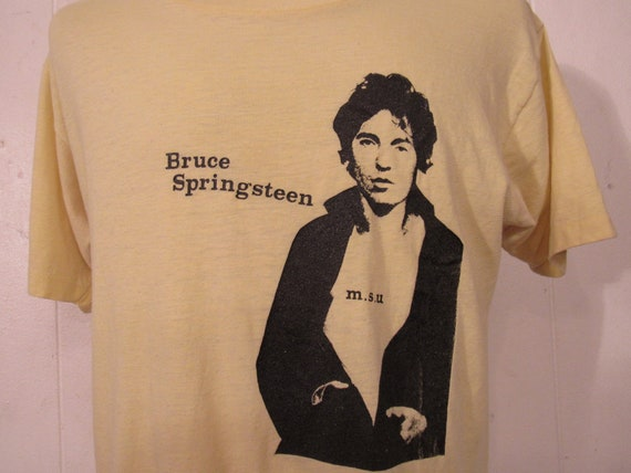 Vintage t-shirt, Bruce Springsteen t shirt, concer