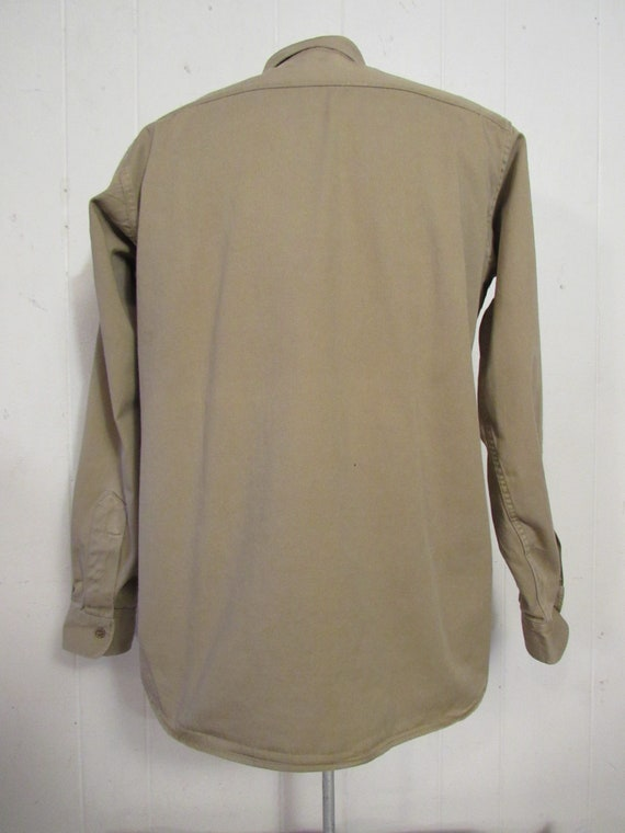 Vintage shirt, military shirt, Army shirt, 1950s … - image 7