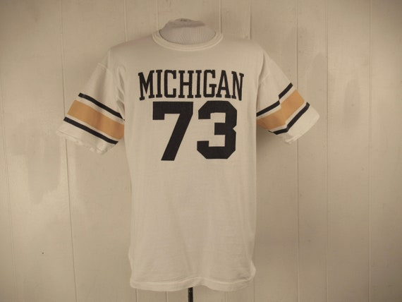 Vintage t shirt, 1970s t shirt, Michigan t shirt,
