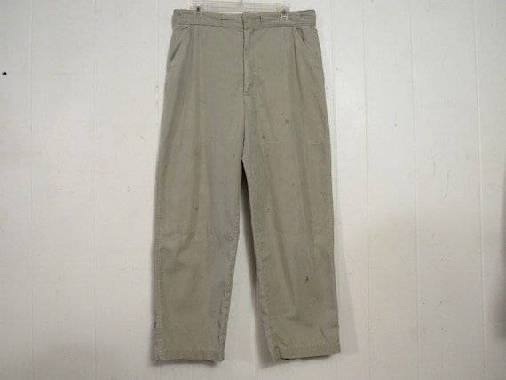 Vintage pants, hunting pants, work pants, 1950s pa