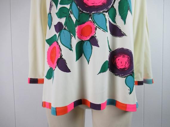 Vintage Mr Dino shirt, vintage blouse, 1960s shir… - image 3