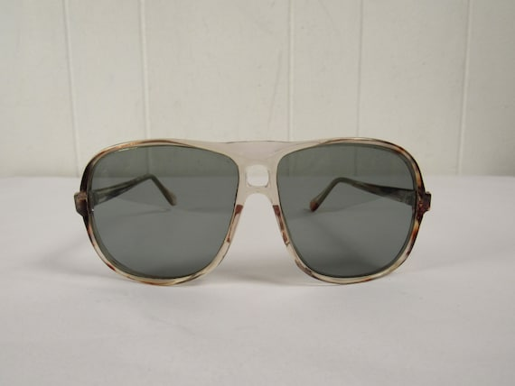 Vintage sunglasses, oversized sunglasses, mod sung