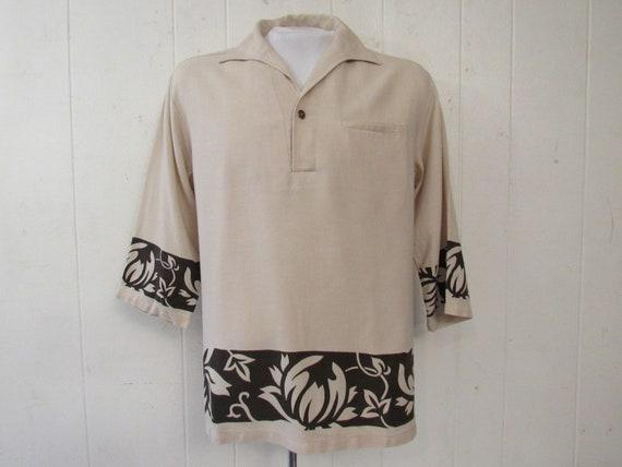 Vintage shirt, Hawaiian shirt, 1950s shirt, vintag