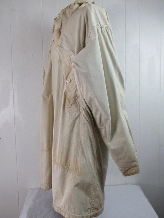 Vintage parka, 1940s jacket, WWII reversible jack… - image 8