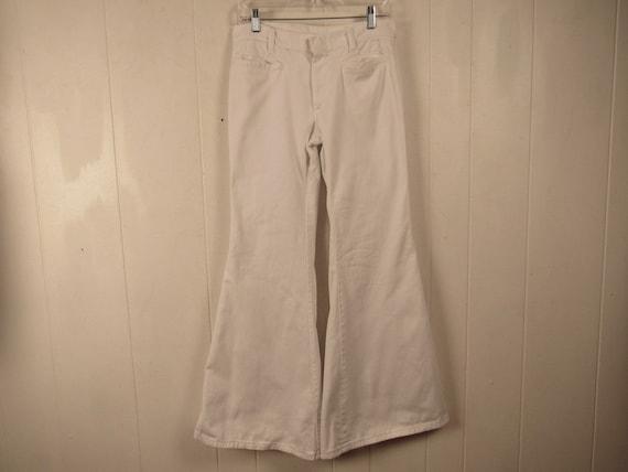 Vintage bell bottoms, vintage jeans, 1960s pants,