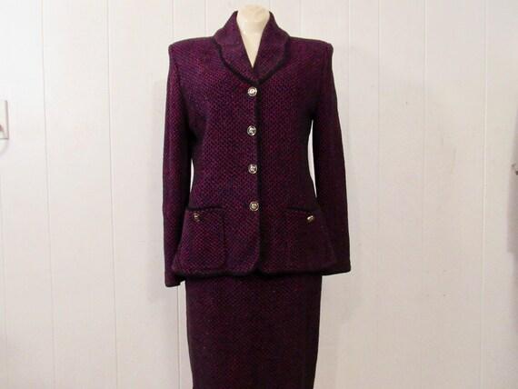 Vintage suit, women's suit, St. John suit, St. Joh