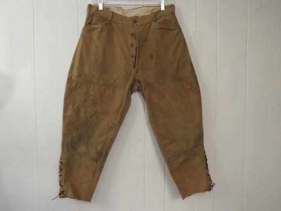 Vintage pants, vintage jodhpurs, vintage riding pa
