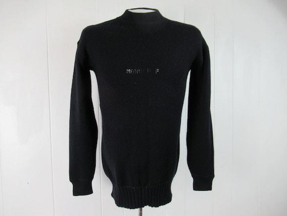 Vintage sweater, 1940s sweater, U.S.N. sweater, Na