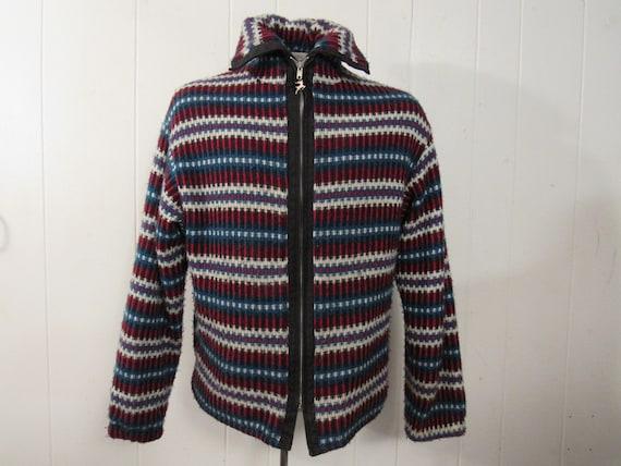 Vintage jacket, 1960s coat, ski jacket, White Stag